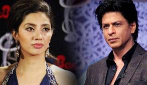 Shahrukh Khan with Mahira